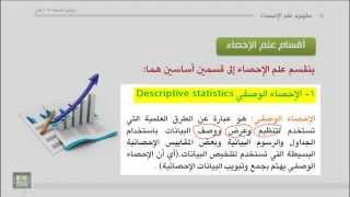 مبادئ الإحصاء - مفهوم علم الإحصاء
