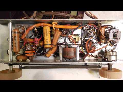 Repeat Portable Tube Radio Repair, test tubes and check all