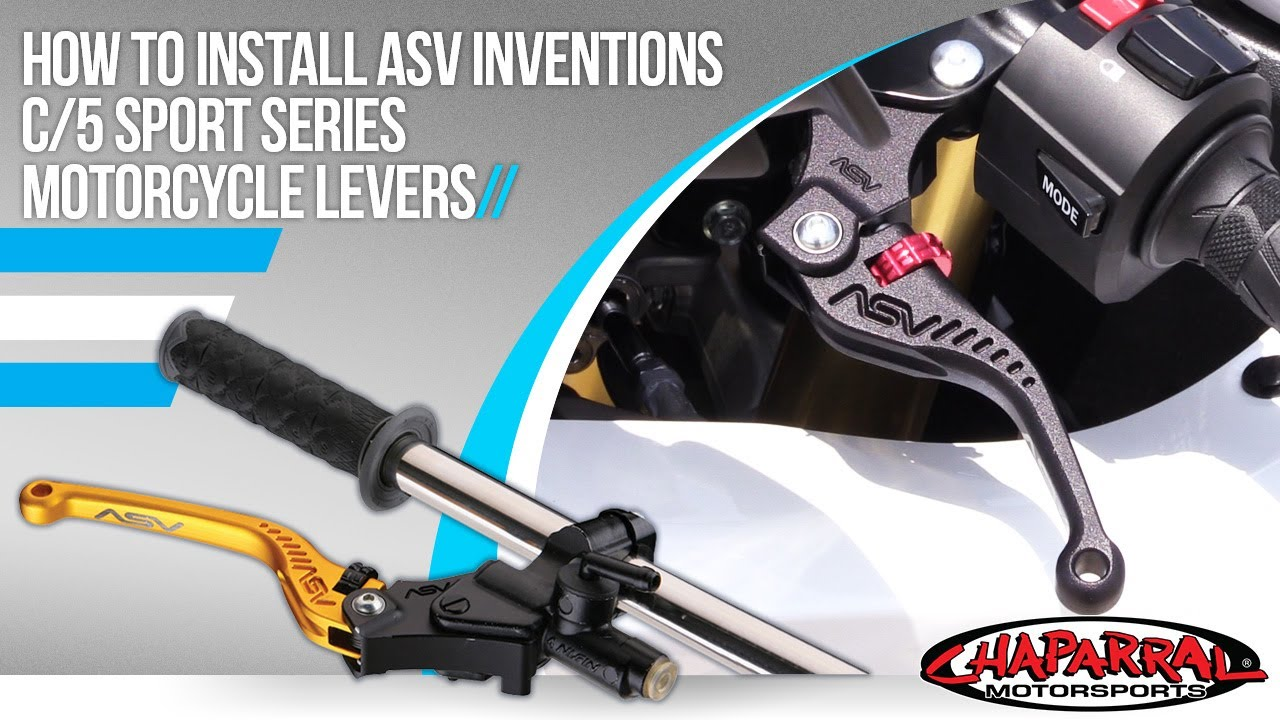ASV Inventions CRC523-G C5 Sport Gold Standard Clutch Lever for Buell