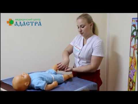 Видеоуроки массажа детского
