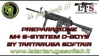 Preparazione M4 S-System D-Boys Ingranaggi 16:1 -2 denti Pistone SH...
