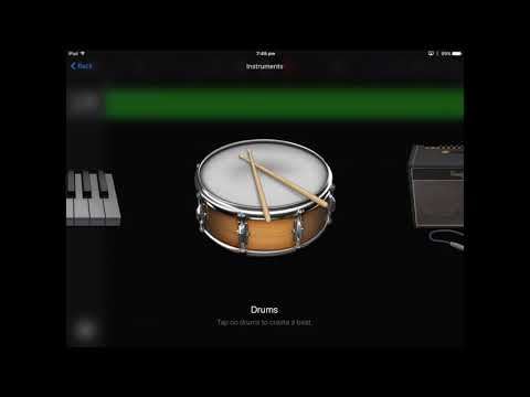 Making a Hip Hop Beat in Garageband on iPad