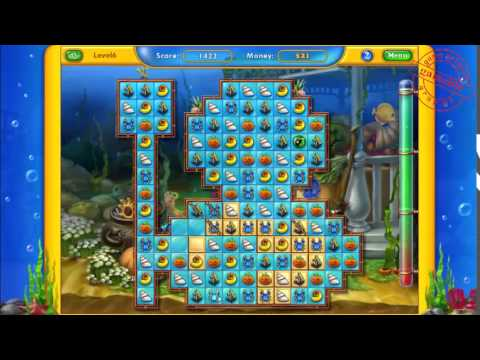 GamePlay Fishdom Spooky Splash Lv 5 7  #GameNetworkPS