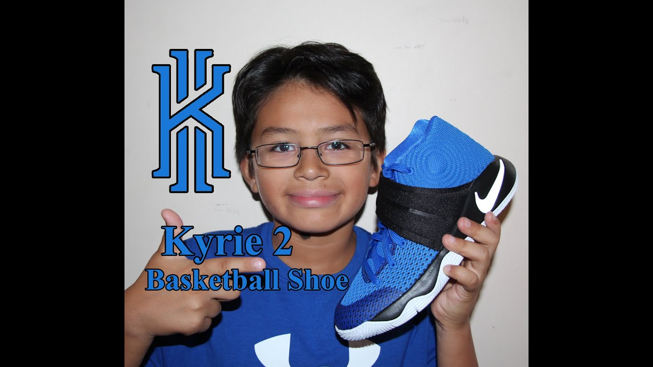 94acc95061f Kyrie 2 Basketball shoes UNBOXING Hyper Cobalt Black Metallic Silver ...