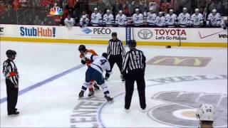 Maxime Talbot vs Vincent Lecavalier fight Feb 5 2013 Tampa Bay Lightning vs Philadelphia Flyers  NHL