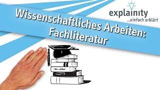Fachliteratur einfach erklärt (explainity® Erklärvideo)