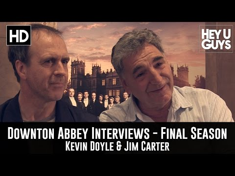 Kevin Doyle & Jim Carter Exclusive Interview - Downton Abbey