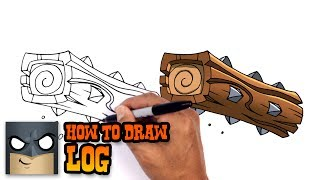 How to Draw Log | Clash Royale