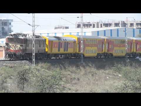 Winsome Negotiation of 22186 Indore Bhopal AC Double Decker!!