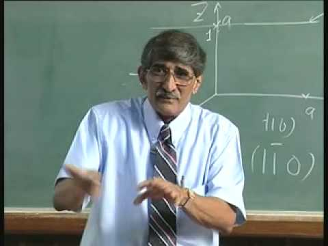 Lecture 6 - Crystal Structures in GaAs