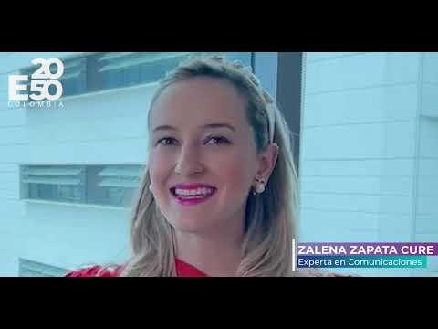 """E2050 COLOMBIA - """"Unidos por la Resiliencia Climática"""" Zalena Zapata Cure"""