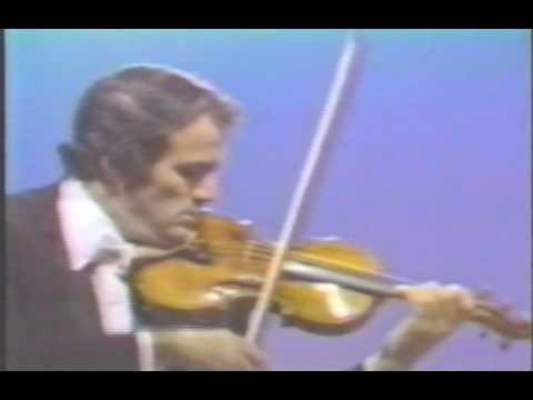 Erick Friedman plays Praeludium and Allegro by Fritz Kreisler