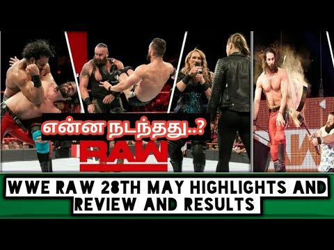 WWE Raw 28th May Highlights And Review And Results/World Wrestling Tamil thumbnail