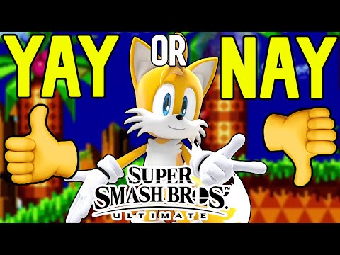 Should TAILS be in SMASH BROS DLC |