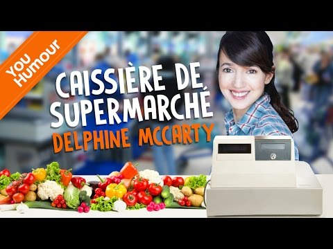 DELPHINE McCARTY - Caissière de supermarché
