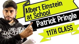 Albert Einstein at School by Patrick Pringle (11th Class English) (Hindi Explanation)