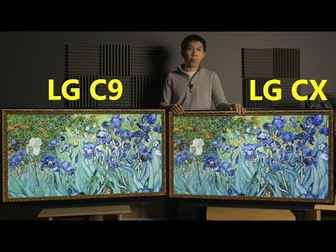 LG CX (2020) Vs C9 (2019) OLED TV Comparison