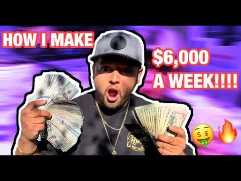 HOW I MAKE $6,000 A WEEK!!!! PARTY RENTAL BUSINESS