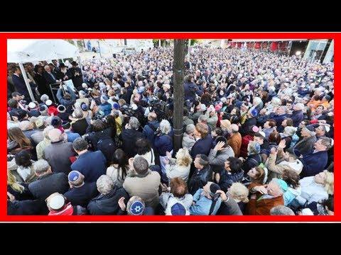 Rund 2000 Berliner tragen Kippa