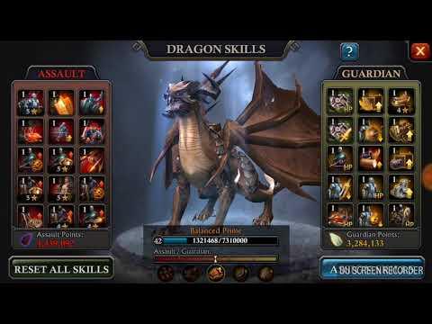 """King of Avalon """"Dragon assault skills"""""""