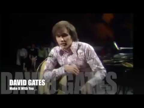 David Gates - Make It With You (Rare Live Acoustic)