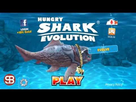 Giant Crab Defeat by Big Daddy (Hungry Shark Evolution)