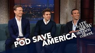 'Pod Save America' Hosts Have Sympathy For Sean Spicer