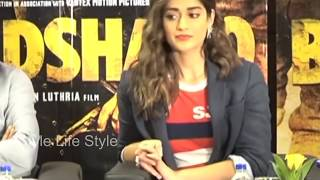 ileana dcruz oops moment at baadshaho press conference style life style