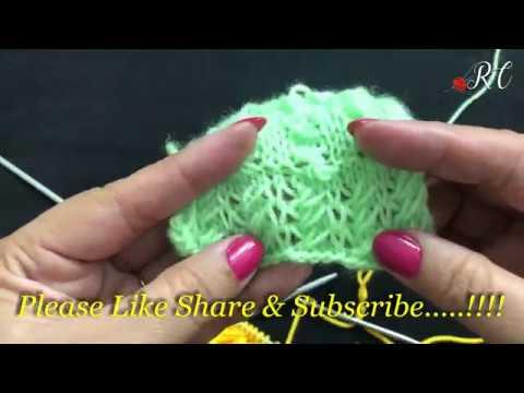 7b159e434 Knitting Design no   173 (एक और बहुत ही आसान डिज़ाइन )