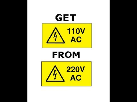 How to get 110v from 220v SIMPLE!! - YouTubeYouTube