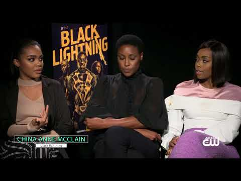 Nafessa Williams, China Anne McClain & Christine Adams PT2