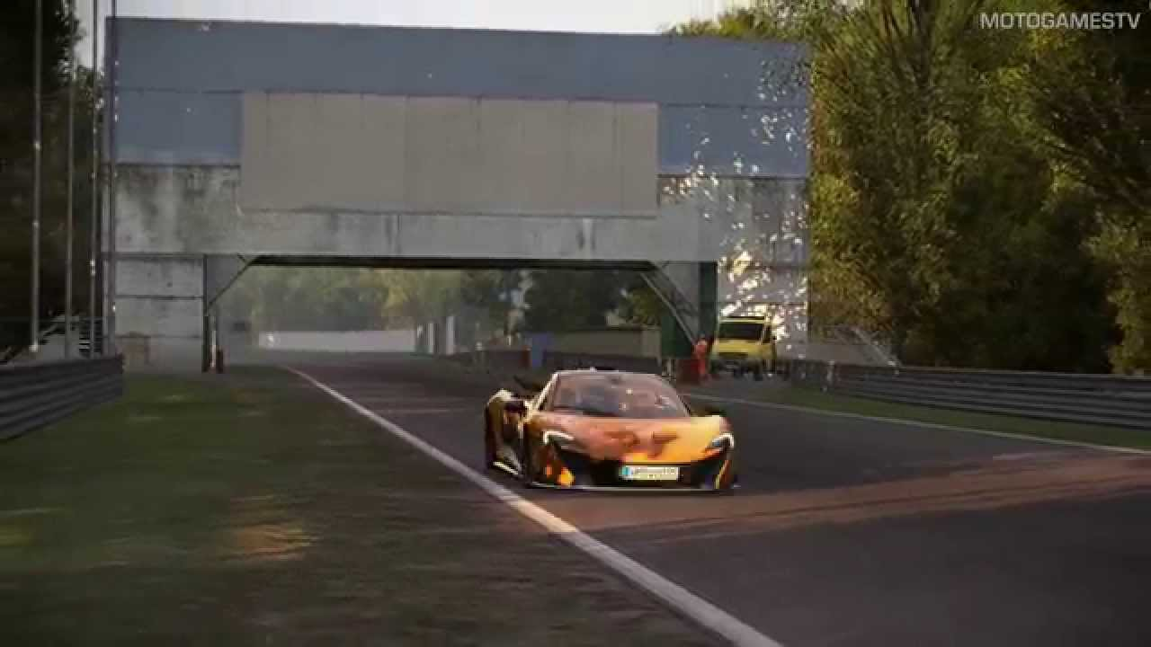 Project cars build 870 mclaren p1 at monza replay - Project cars mclaren p1 ...