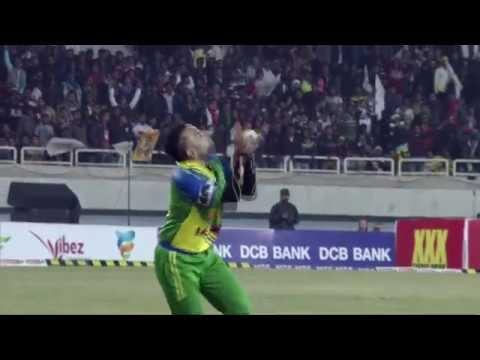 CCL 5 Kerala Strikers Vs Mumbai Heroes Highlights