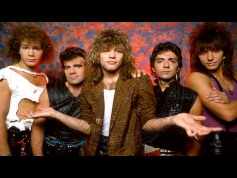 Bon Jovi - Burning For Love (Paris 1984)