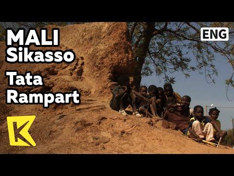 【K】Mali Travel-Sikasso[말리 여행-시카소]티에바 왕이 쌓은 타타 성벽/Tata Rampart/King Tieba/Resistance/Children