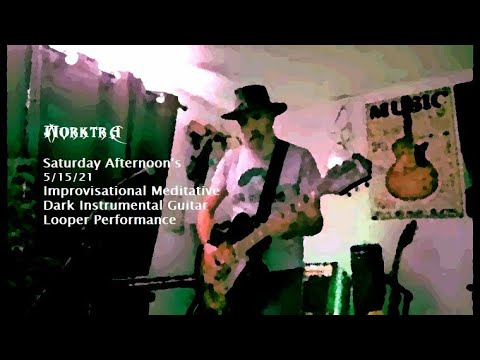 Saturday Afternoon Improvisational Meditative Dark Instrumental Guitar Looper Performance
