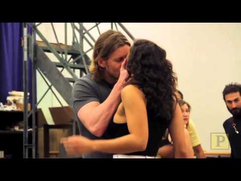 "Paper Mill PLayhouse's ""The Hunchback of Notre Dame"" in Rehearsal"