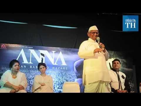 In film: The life of Anna Hazare