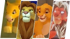 Simba Evolution in Games - The Lion King (2019)