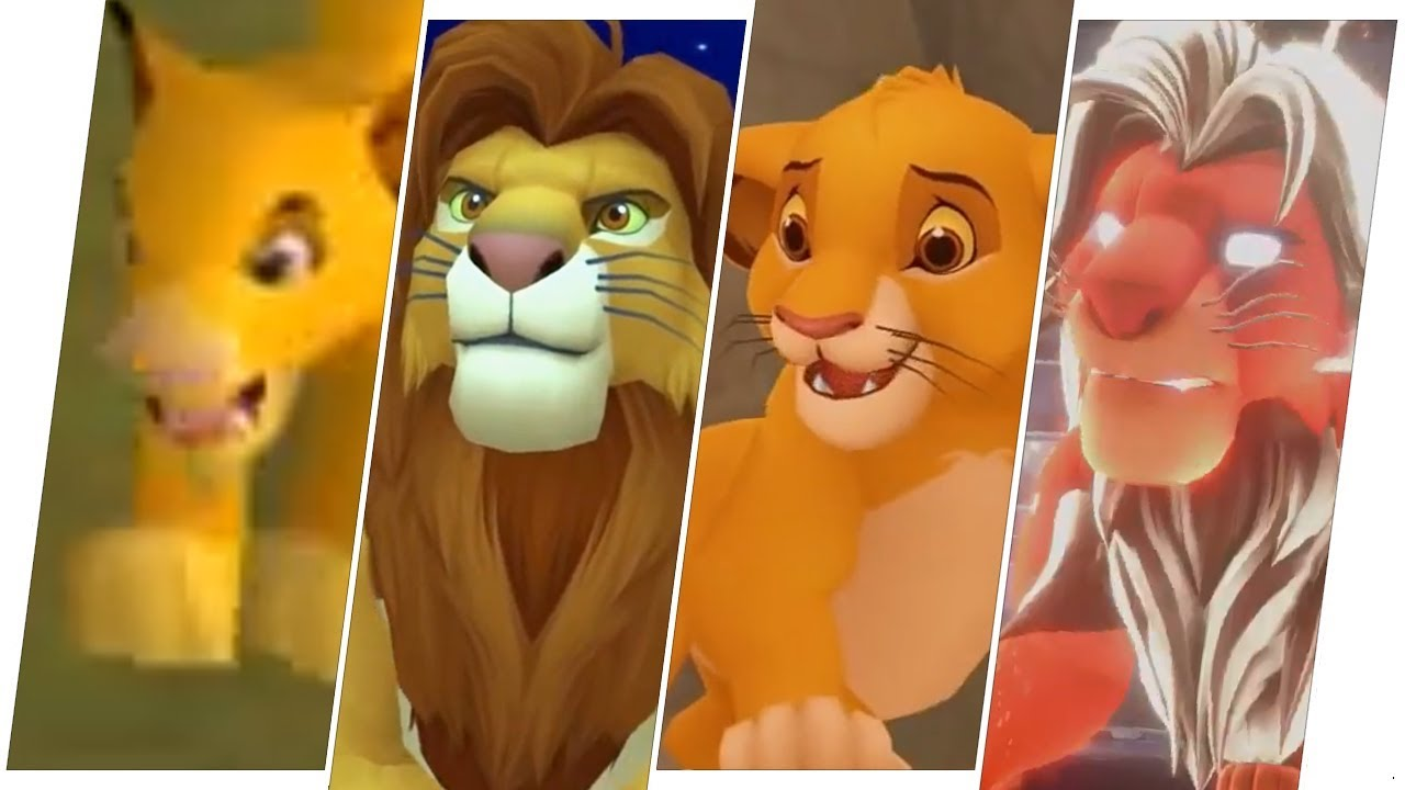 Simba Evolution In Games The Lion King 2019 Youtube