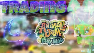 My Rarest Item in AJPW? Trading, Scammers & Tips // Animal Jam Play Wild