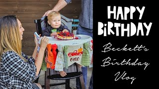 1st Birthday Party   FALL FAMILY VLOG
