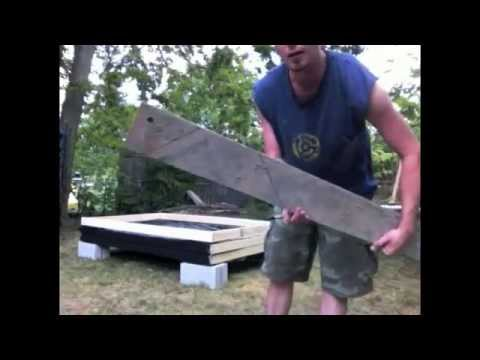 How To Build Haunted House Walls FREE STANDING!!!!!