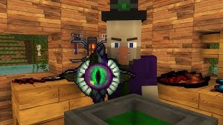 Witch Life / Villager Life 2  - Minecraft animation thumbnail