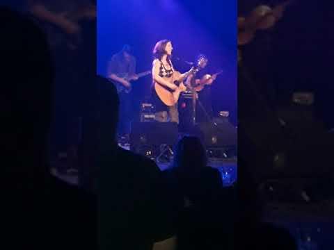 Ani Defranco performing at Nashville Marathon Music Works