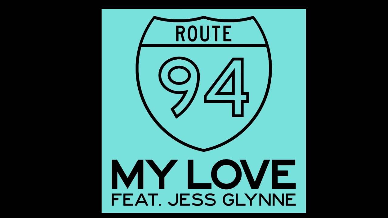 ROUTE 94 Feat  JESS GLYNNE - My Love (Acapella EDIT 128 BPM)