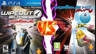WipEout 2048 Vs HD Fury - Sol 1 Vs Sol 2 (PS4/PS3)