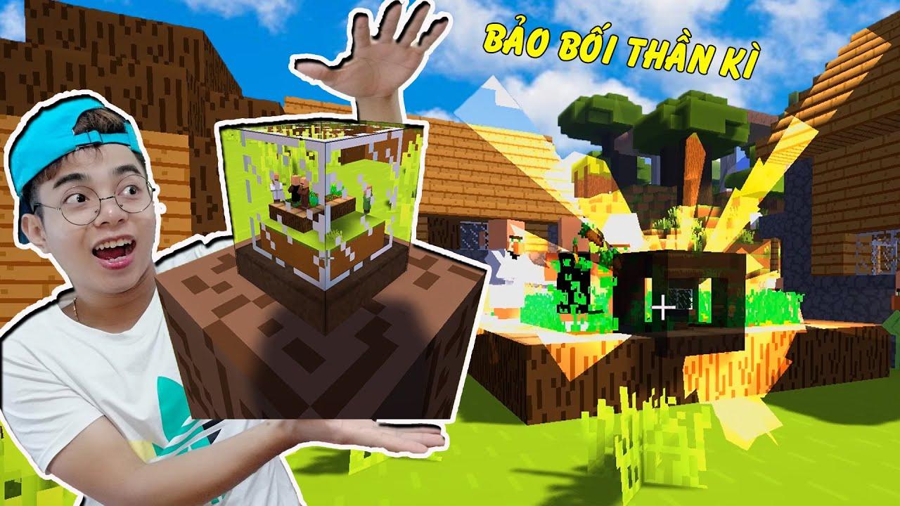 ThắnG Tê Tê Tạo Ra Bảo Bối Nhốt Mấy Ông Dân Làng Lười Làm Trong Minecraft