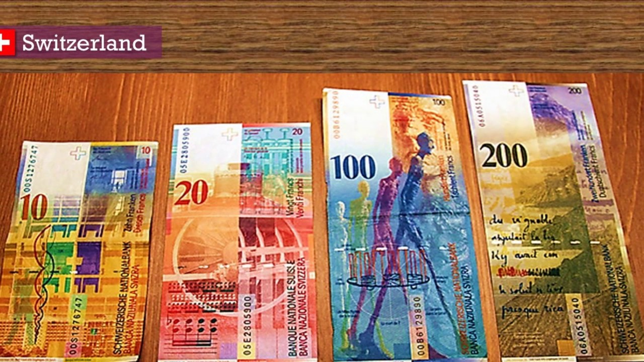 Top 5 Best Looking Banknotes In The