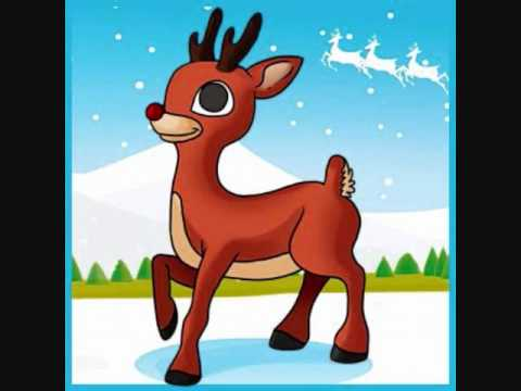 Rudolph the Red Nosed Reindeer (In Spanish with Lyrics) - YouTube